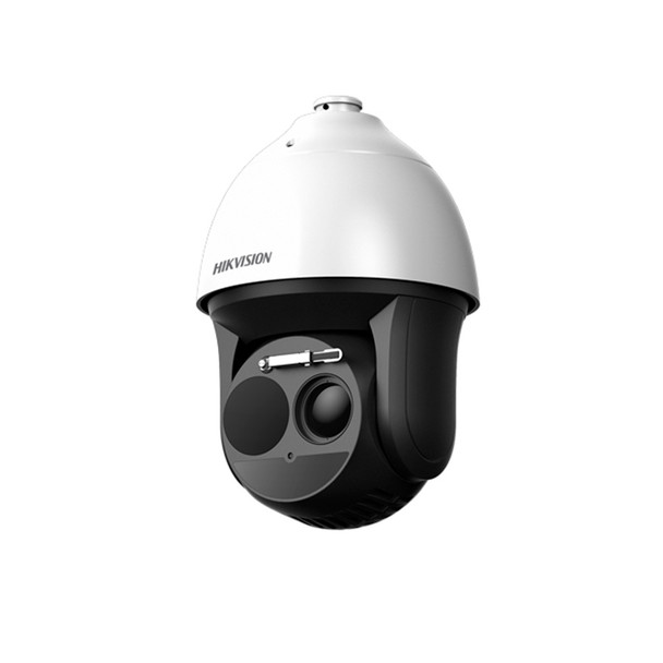 Hikvision DS-2TD4136-25 Thermal & Optical Bi-Spectrum Speed Dome IP Security Camera - 25mm Thermal Lens