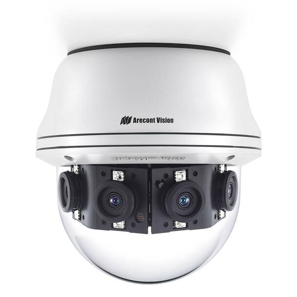 Arecont Vision AV20CPD-118 20MP 4K IR H.265 Outdoor Dome IP Security Camera - Multi-sensor