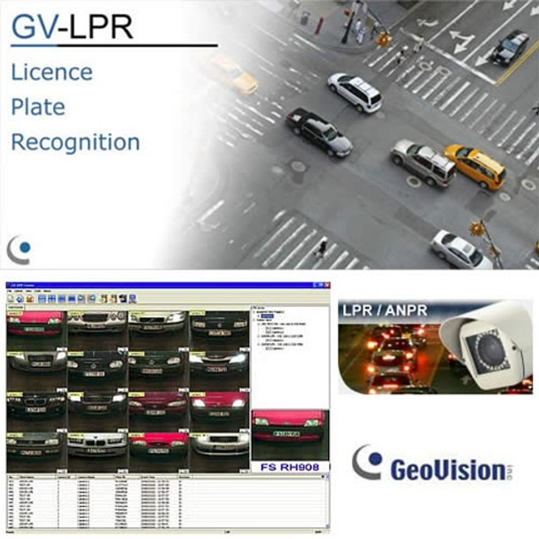Geovision 4TB NVR PC Recorder up to 32 Ch w/ASM/LPR Software