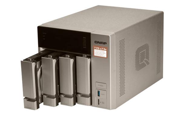 QNAP TVS-473E-4G 4-Bay NAS - AMD RX-421BD quad-core APU, 4GB RAM