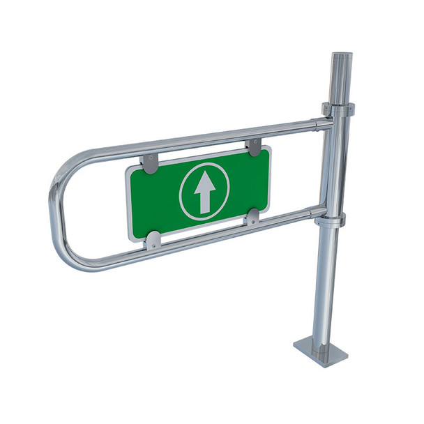 Mechanical One-Directional Swing Gate Turnstile