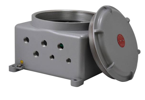 Videotec MBA2S5A Explosion-proof Communication Box in Aluminum - 24Vac, T5 -60-degreeC/+80-degreeC
