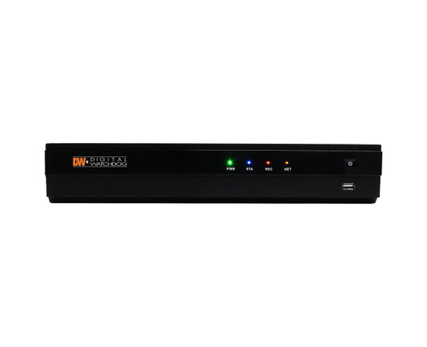 Digital Watchdog DW-VP122T8P 8 Channel PoE Network Video Recorder - 2TB HDD included