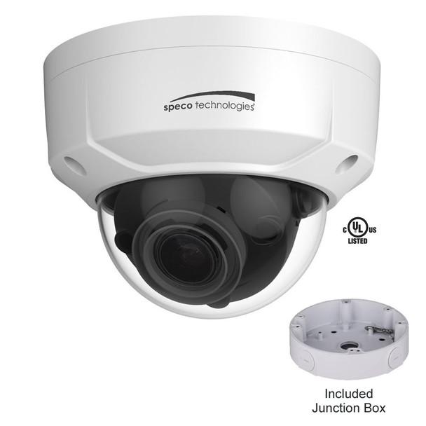 Speco O4D2M 4MP IR Outdoor Dome IP Security Camera
