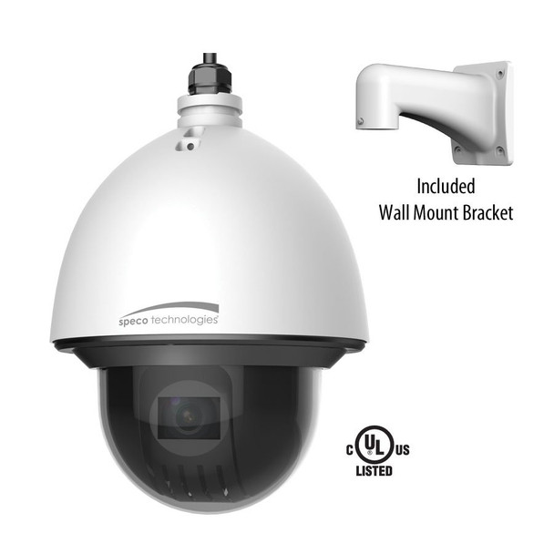 Speco O4P30X 4MP Outdoor PTZ IP Security Camera with 30x Optical Zoom