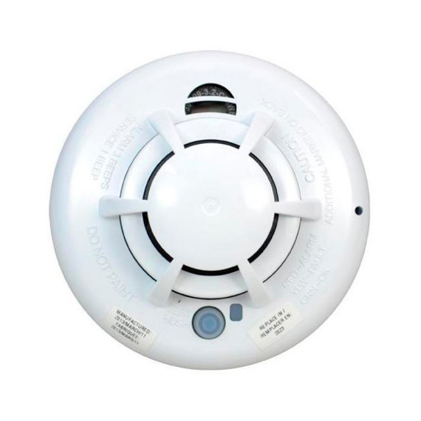 2Gig 2GIG-SMKT3-345 Wireless Smoke Heat & Freeze Detector