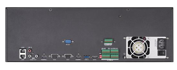 Hikvision DS-9632NI-I16 32 Channel 4K Network Video Recorder - No HDD included, Supports H.265