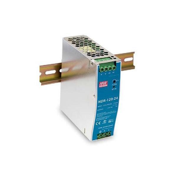 Vivotek NDR-120-48 120W Single Output Industrial DIN RAIL Power Supply