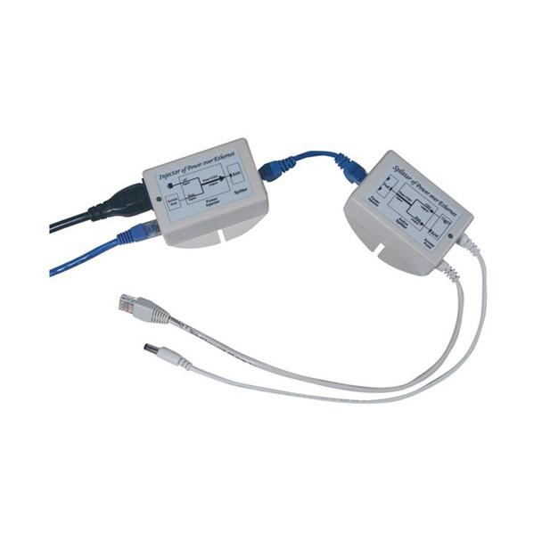 Vivotek MS-POE-KITAF,12V PoE-Kit, Injector + Splitter, 802.3af Compliant