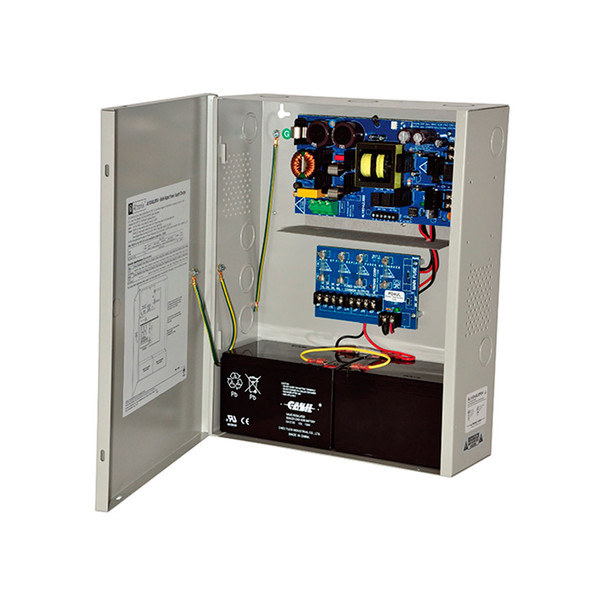 Altronix AL1024XPD4220 4 Fused Outputs Power Supply/Charger - 24VDC @ 10A, 220VAC, BC400 Enclosure