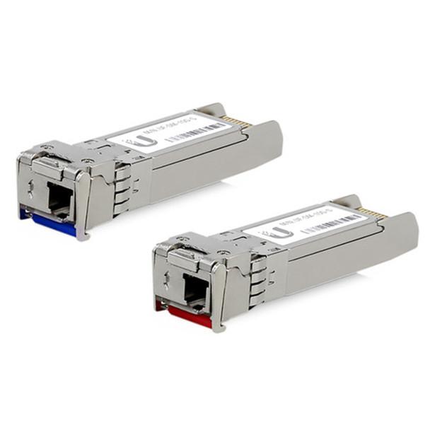 Ubiquiti UF-SM-10G-S-20 SFP/SFP+ Single Mode Fiber Module - 10 Pairs (20)