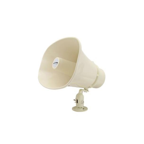 "Speco SPC30RT 11"" x 8"" Weather-Resistant P.A. Horn Speaker - 70/25V"
