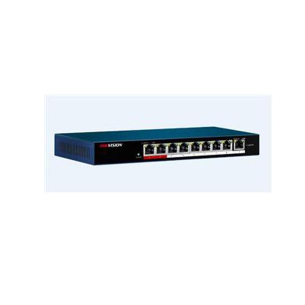 Hikvision DS-3E0109P-E/M 9-Port 100 Mbps Unmanaged PoE Switch