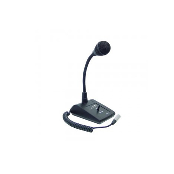 Speco MHL5S Adjustable Gooseneck Tabletop Microphone
