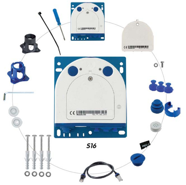 Mobotix MX-S16B S16 Camera Module with Optional Accessories