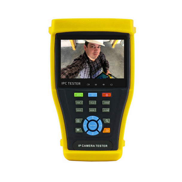 """ST-HDoC-TEST-MINI2 4.3"""" Touch Screen Test Meter For Analog, IP, HD-TVI, HD-CVI & AHD Cameras"""