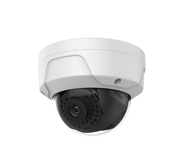 Oculur X4DFL 4MP IR H.265+ Outdoor Dome IP Security Camera with 2.8mm Fixed Lens and Night Vision