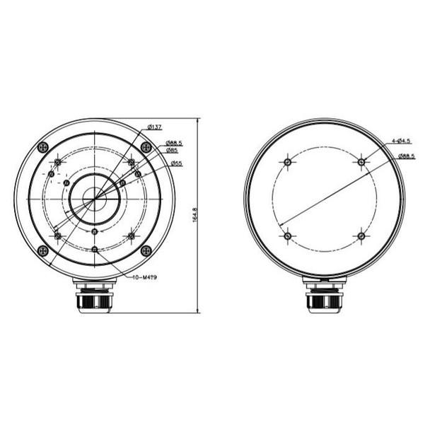 Oculur ADF-JB Universal Junction Box