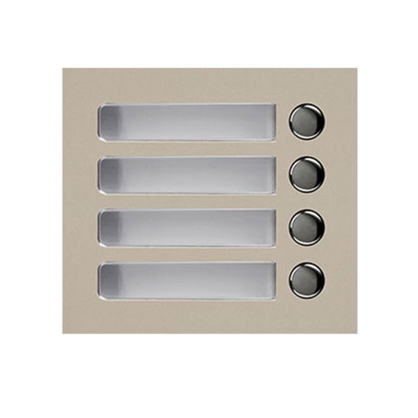 Aiphone GF-4P 4-Call Button Panel for GT-SW