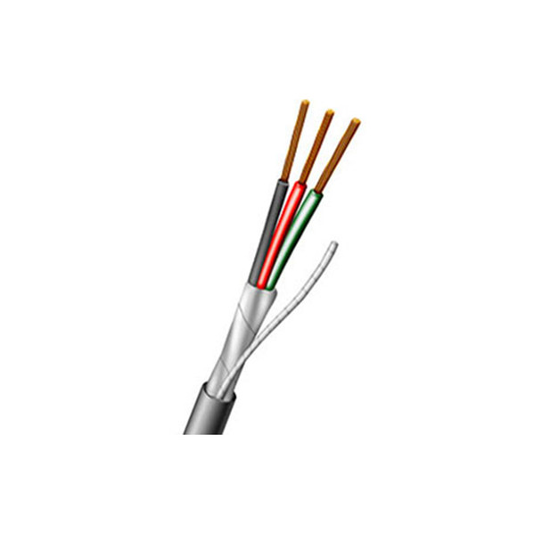 Aiphone 82220350C 3 conductor, 22AWG, Shielded Wire, 500'
