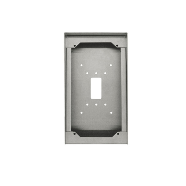 Aiphone SBX-IDVF Stainless Steel Surface Mount Box for IS-SS/IS-DVF/IS-IPDVF/IX-DF(SS)