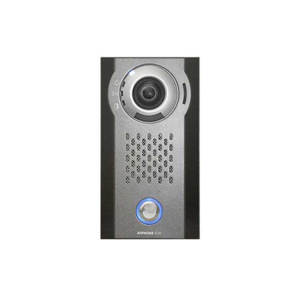 Aiphone IX-DV SIP Compatible Surface Mounted IP Video Door Station - Vandal Resistant Aluminum Die Cast Cover