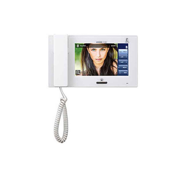 """Aiphone JP-4MED 7"""" Video Master Station with Touchscreen LCD"""