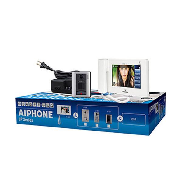 """Aiphone JPS-4AED 7"""" Touchscreen Video Intercom Set (JP-DA, JP-4MED, PS-2420UL)"""
