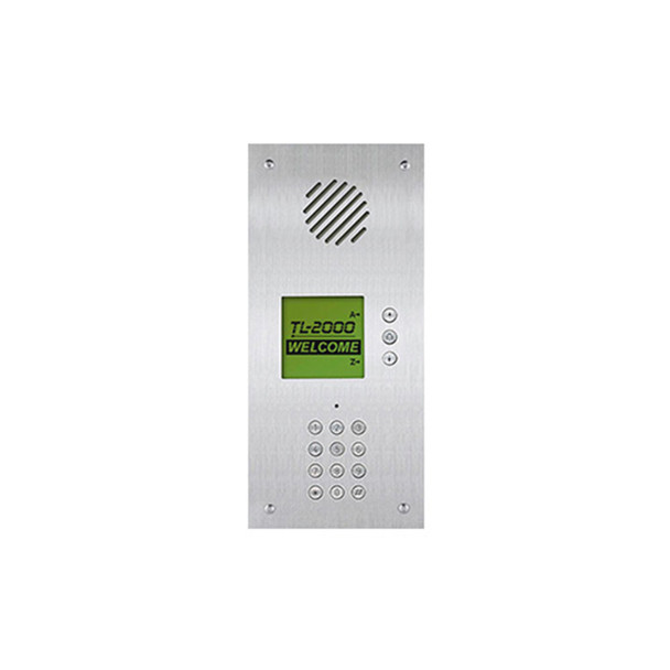 Aiphone TL-2000 Telephone Multi-Tenant Entry Panel, Flush Mount