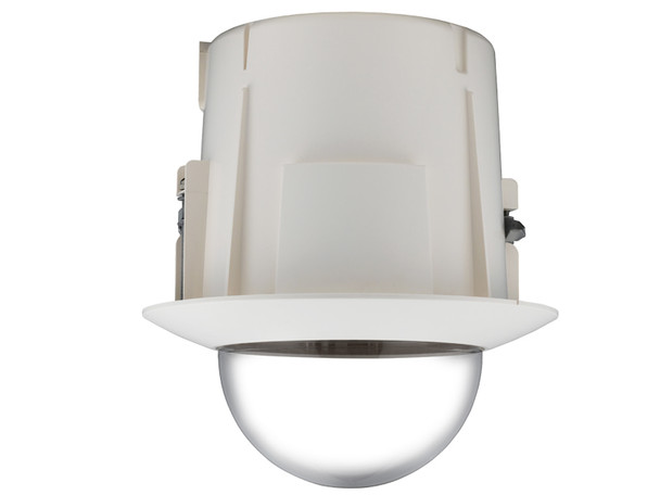 Samsung Hanwha SHP-3701FB In-ceiling Flush Mount Housing, Tinted Bubble