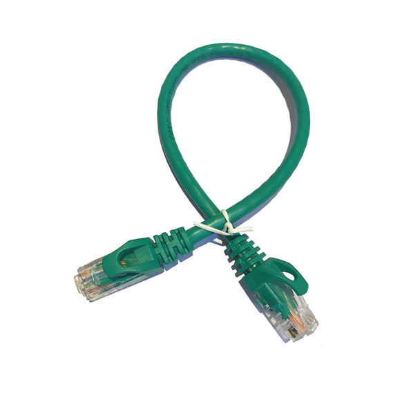 LTS LTPC6001GN-CMR 1FT Cat6 Patch Cable Green