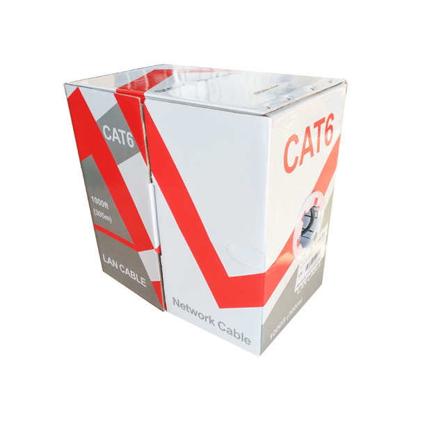 LTS LTAC6250B-CMR 99.99% Oxygen-Free Copper CMR Rated Network Cable - Cat6
