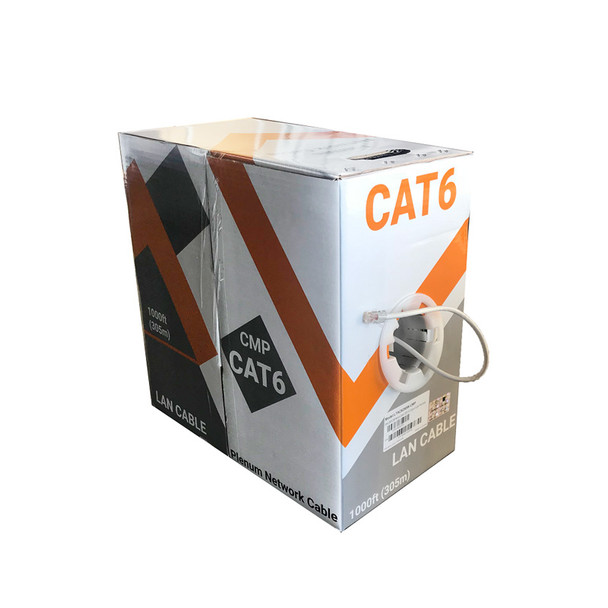 LTS LTAC6250W-CMP U/UTP Category 6 Indoor Plenum CMP Cable
