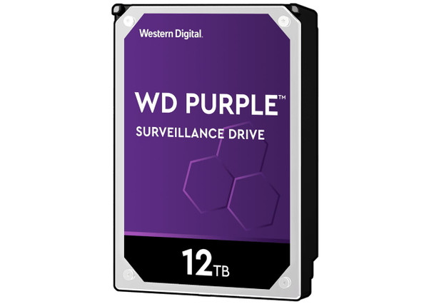 Western Digital WD121PURZ 12TB Purple Surveillance Hard Drive