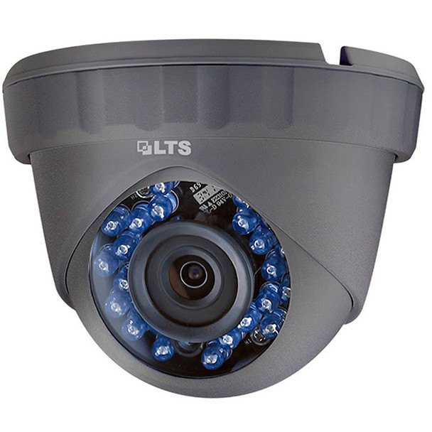 LTS CMHT2122B-28F 2.1MP IR 4-in-1 Outdoor Turret HD-TVI Security Camera
