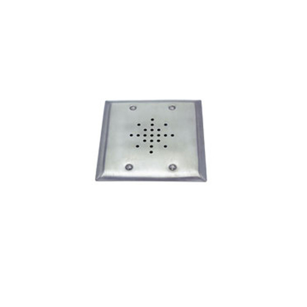 """ETS DGS-3 3"""" Speaker on a Double Gang Stainless Steel Plate"""