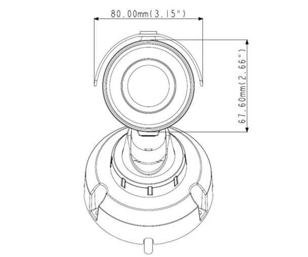 Geovision GV-EBL4702-2F 4MP H.265 IR Outdoor Bullet IP Security Camera 84-EBL4702-2010