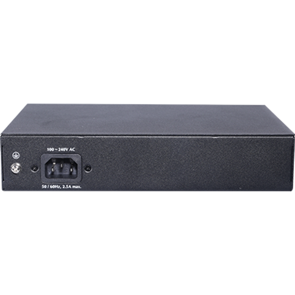 Geovision GV-APOE0810 10-Port 10/100/1000M Unmanaged PoE Switch with 8-Port PoE
