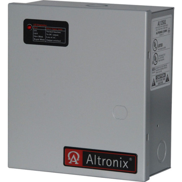 Altronix AL125220 Access Control Power Supply Charger - 2 PTC Class 2 Outputs