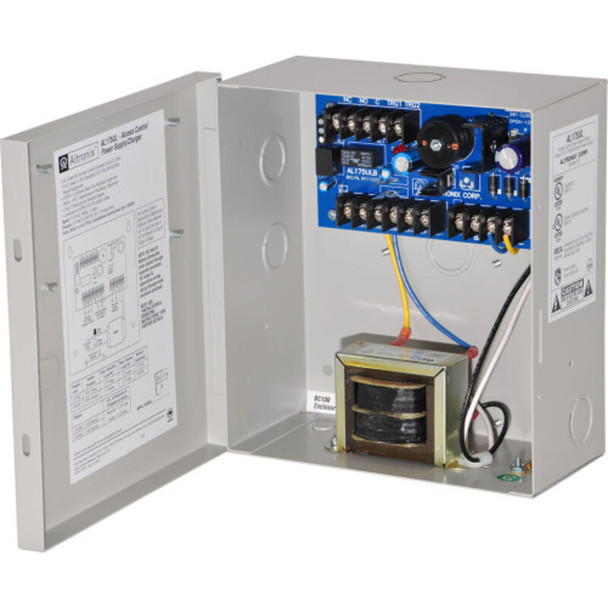 Altronix AL175220 Access Control Power Supply Charger - 2 PTC Class 2 Outputs