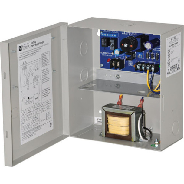 Altronix AL176220 Access Control Power Supply Charger - Single PTC Class 2 Output