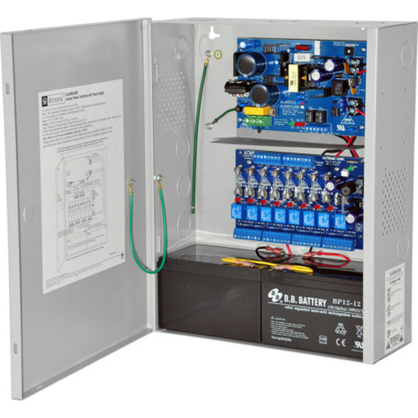 Altronix AL400ACM220 Access Power Controller with Power Supply/Charger - 8 Fused Relay Outputs