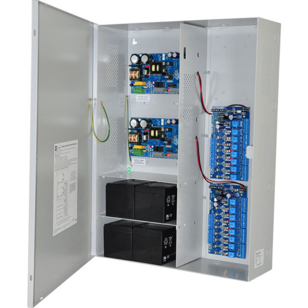 Altronix Maximal33FV Access Power Controller with Power Supply/Chargers - 16 Fused Relay Outputs