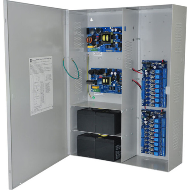Altronix Maximal75V Access Power Controller with Power Supply/Chargers - 16 Fused Relay Outputs