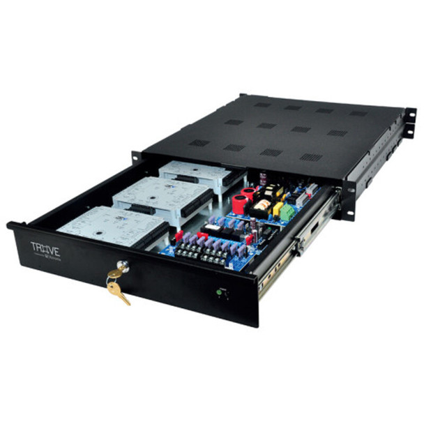 Altronix Trove1V1R Altronix/HID-Vertx Access and Power Integration Rack Mount Enclosure with Backplane - Trove1 Rack Series