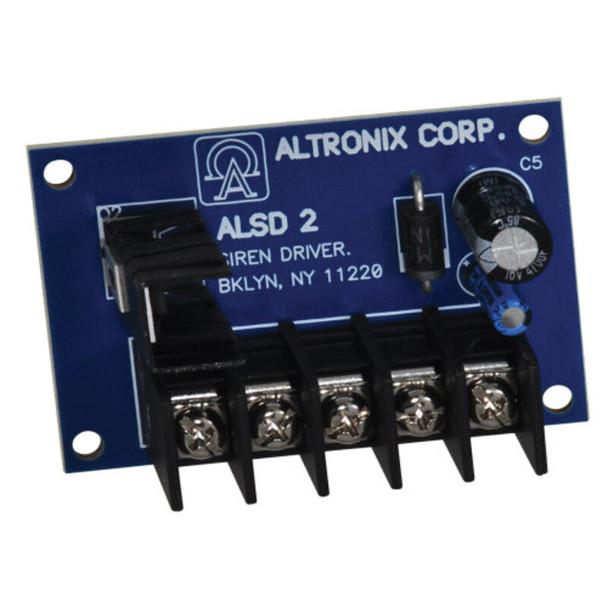 Altronix ALSD2 Dual Channel Siren Driver - 6/12VDC