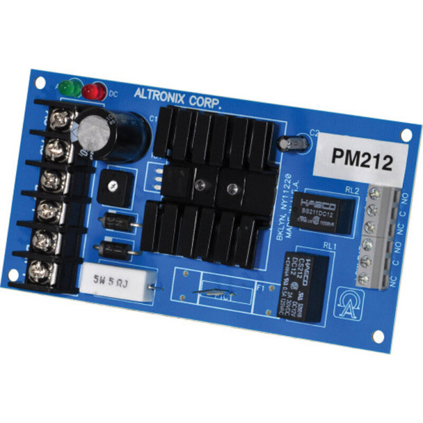 Altronix PM212 Linear Power Supply/Charger - Single Output