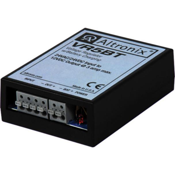 Altronix VR5BT Voltage Regulator - Converts 24VAC/VDC to 12VDC @ 3A