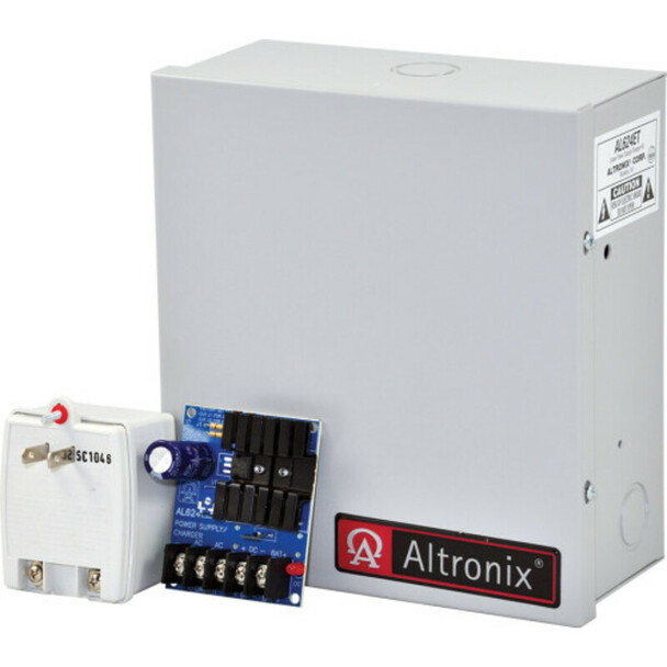 Altronix AL624ET Linear Power Supply Charger - Single Class 2 Output