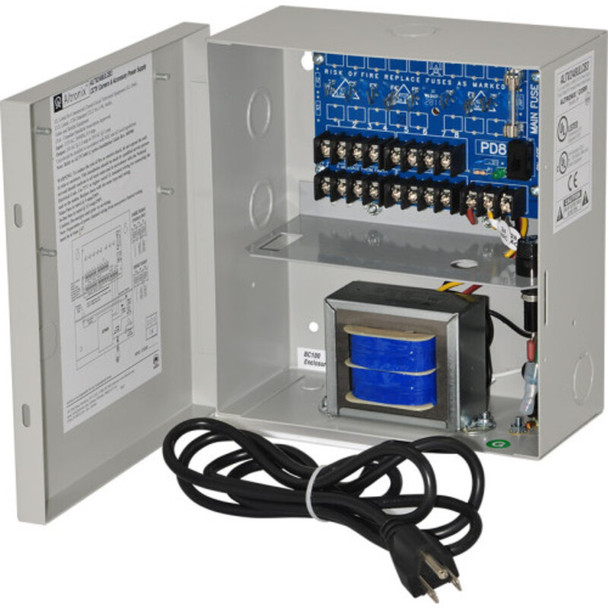 Altronix ALTV248ULCB3 CCTV Power Supply - 8 PTC Class 2 Outputs